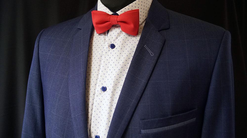 133f262796d47 Modny garnitur w szeroką kratę z kontrastowymi wypustkami,w komplecie z  gładkimi spodniami,lub w kratkę na zamówienie. Poszukujesz garnituru  idealnie ...